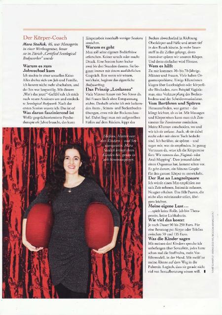 frauenzeitschrift myself interviewte mara stadick